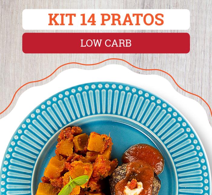 Kit 14 Pratos Low Carb