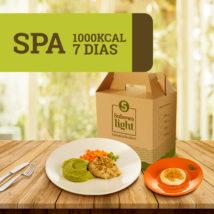 Spa 1000 kcal 7 dias