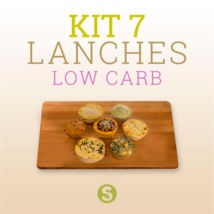 Kit 7 Lanches Low Carb