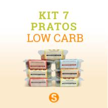 Kit 7 Pratos Low Carb- 1ª opção