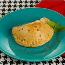 Empanada integral de espinafre