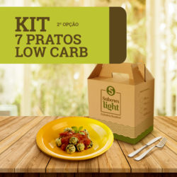 6960A - KIT 7 pratos lowcarb 2 oplçao