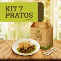 Kit 7 Pratos - 2ª Opção