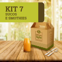 Kit 7 sucos e smothies